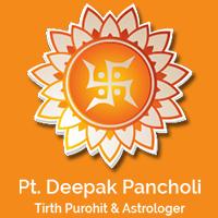 Pandit Deepak Pancholi - Logo